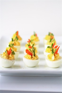 cream cheese smoked salmon deviled eggs